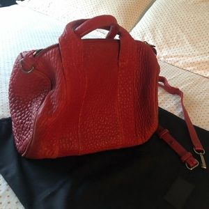 Alexander Wang - (Rocco) Red Leather Satchel